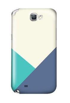 Triangular All Glossy Hard Case for Samsung Galaxy Note 2