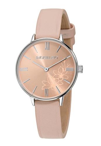 Morellato pink Ninfa Quartz Watch R0151141503 Pink Leather Strap 7434DAC15C5202GS_1