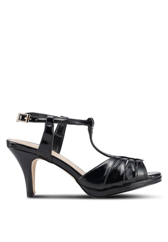 Carlton London 黑色 經典高跟鞋 74018SH0E5A342GS_1