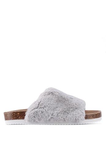 Vero Moda grey Tio Sandal 00E15SHB26E63EGS_1