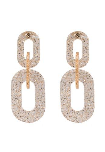 Pieces white Nika Earrings 49996ACC9765DAGS_1