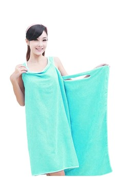 Wearable Bamboo Fiber Bath Towel