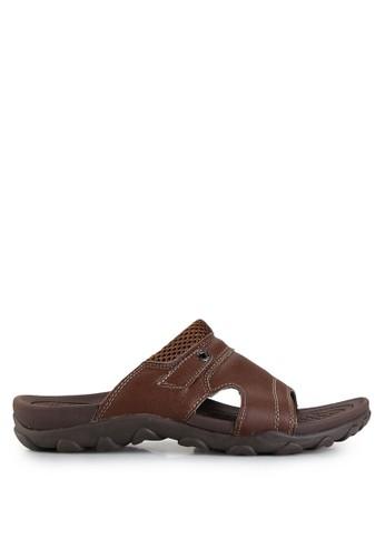 Homyped brown Sienta 02 Men Sandals HO842SH40GZBID_1