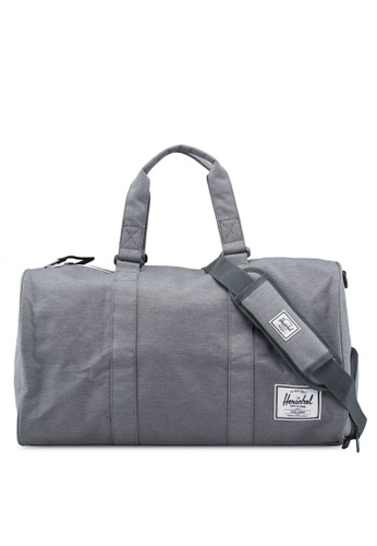 Herschel grey Novel Duffle Bag 9D30AAC7B58C1DGS_1