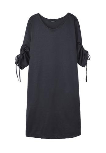 Cheetah grey C Union Casual Short Sleeves Dress - CUL-19252-C2 5E214AA7F96FE3GS_1