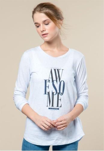 C2 Outfitters white C2 Manibi White T-shirt 24042AAE75457FGS_1