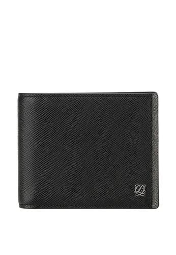 Louis Quatorze black Leather Wallet LO321AC10LQZSG_1