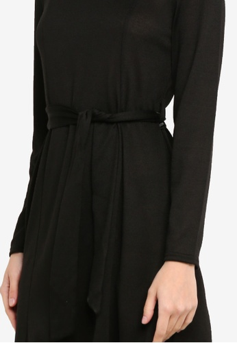Buy Dorothy Perkins Black Tie Cut And Sew Dress Online  520b757ef