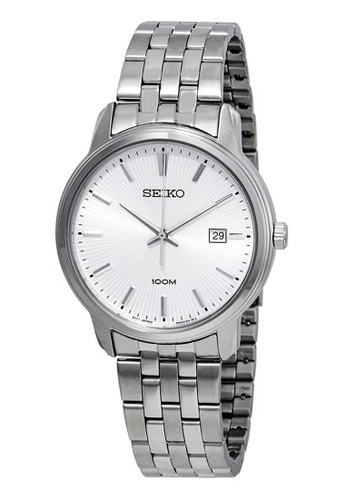 Seiko silver Seiko Neo Classic Silver Stainless Steel Watch 6C899ACE39BB28GS_1