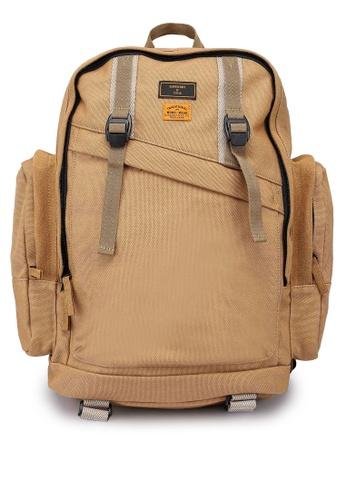 Superdry brown Thunder Backpack - Original & Vintage 80308AC9F0B088GS_1