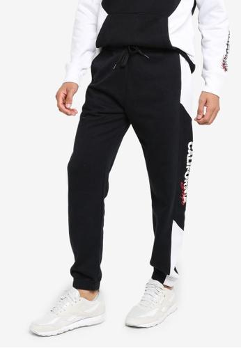 Hollister black Trend Drop Jogger Pants F60B8AAD42E22DGS_1