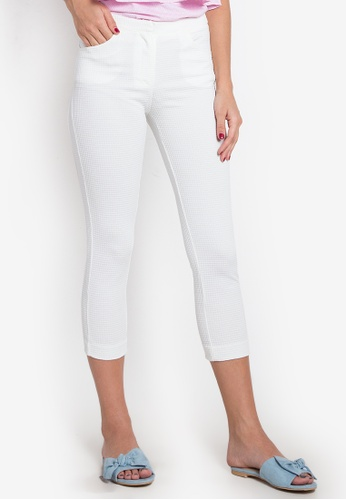 Kamiseta white Woven Zibell Jeans KA785AA0KDXSPH_1