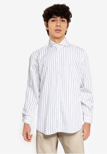 BOSS 白色 Jemerson 襯衫 - BOSS Men C7A24AACA32166GS_1