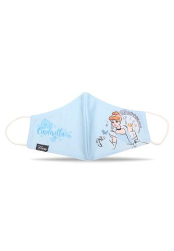 Disney blue Masker Anak Perempuan Disney Princess Cinderella ECD04ES0FB14D2GS_1