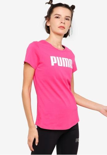 PUMA purple Essentials Women's Tee 3FC30AA9F6BB6CGS_1