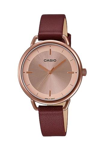 Casio red CASIO Women Watch LTP-E413RL-5ADF B879AAC13C9584GS_1