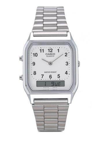 Casio silver Casio AQ-230A-7BHDF Watch BFDAEAC251430BGS_1