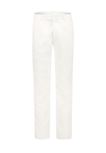 Gieves & Hawkes white WHITE DENIM CHINOS 996FEAA8AE3F0FGS_1
