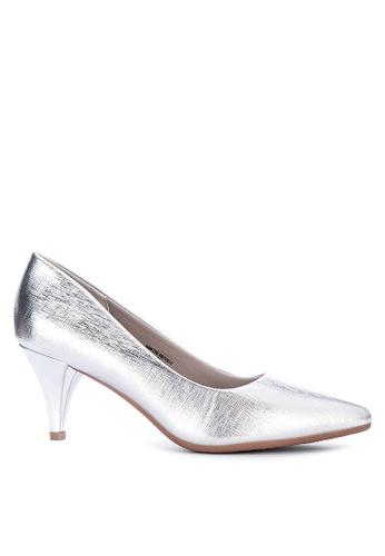 Alberto silver Comfort Kitten Heels C0A7DSHDF7725EGS_1
