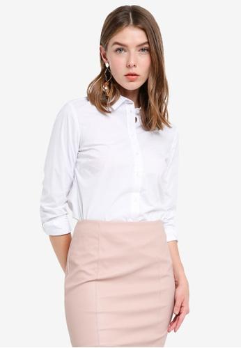 OVS white Women's Long Sleeves Shirt 52FC5AA77A4804GS_1