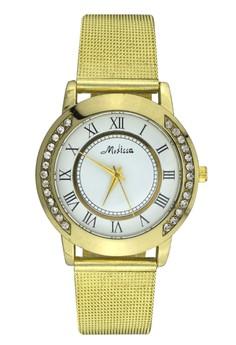 Medissa Unisex Analog Stainless Steel Wrist Watch
