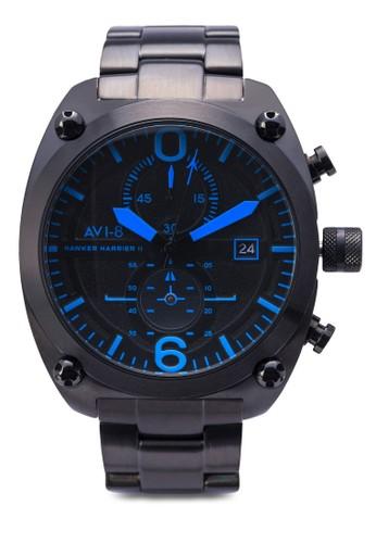 Haesprit台北門市wker Harrier II 不銹鋼大腕錶, 錶類, 錶類