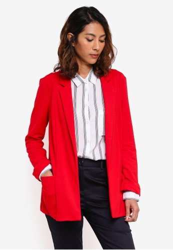 OVS red Red Jacket FD5E7AAB3D9696GS_1