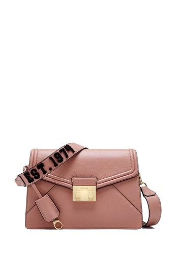 BONIA purple Pinkish Purple York Shoulder Bag M A74C1ACEF71AAEGS_1