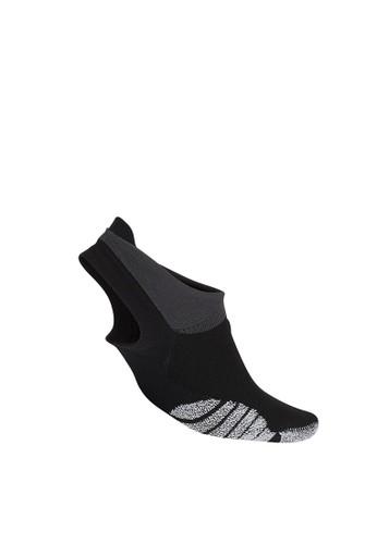 Nike black and grey Grip Studio Training Footie Socks 50717ACCD606B8GS_1