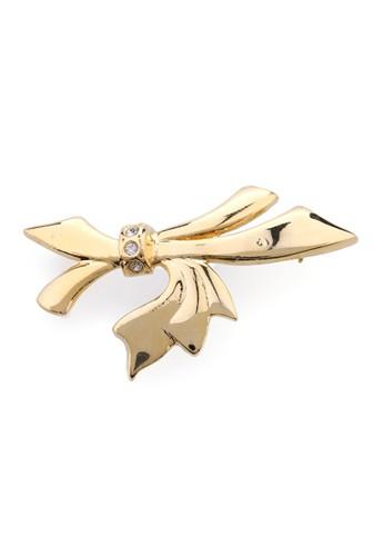1901 Jewelry gold 1901 Jewelry Bow Brooch 2028 19910AC0VXDLID_1