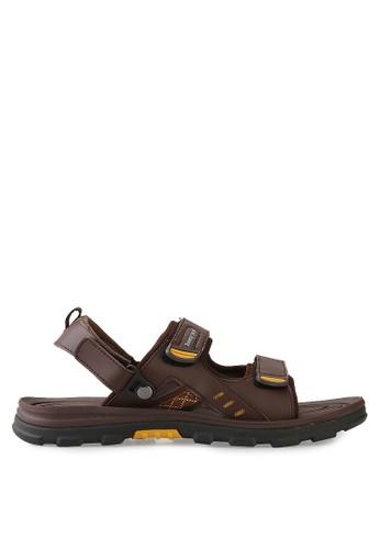 Homyped brown Tibet Sandal Gunung HO842SH62CPTID_1