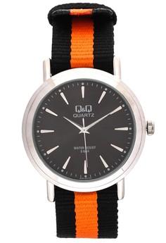 Nato Strap Analog Watch Q752-302