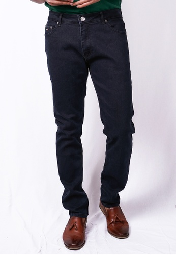 MILANO black and blue Milano Jeans Long Pants Tight Fit Stretchable 50873AAE5DA1E9GS_1