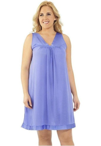Naturana Sleeveless Short Gown 4590DAADF77F8EGS_1