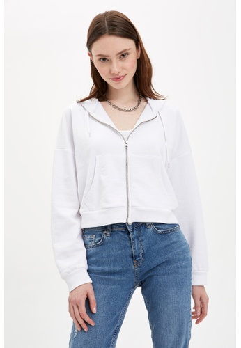 DeFacto white Woman Knitted Cardigan 1340BAA3323896GS_1