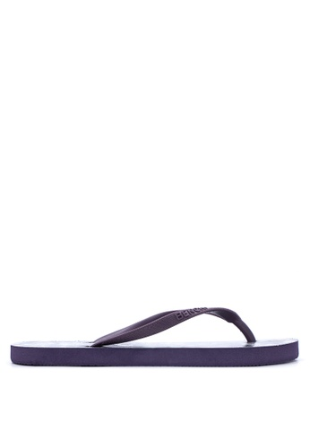 BENCH purple Printed Rubber Slippers BE550SH69LVAPH_1