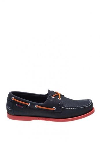 Sebago navy Mens Docksides Boat Shoes SE328SH0J4YAPH_1