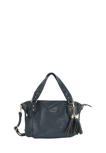 e3fd5f64bf SEMBONIA blue SEMBONIA Synthetic Leather Hobo Bag (Dark Blue)  4810BAC6E67423GS 1