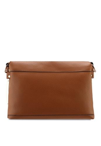 8f5c6f536323 Buy Dorothy Perkins Tan Metal Side Cross Body Bag | ZALORA HK
