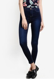 Dorothy Perkins blue Regular Length Indigo Frankie DO816AA09GXQMY_1