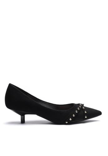 Twenty Eight Shoes Stub Suede Fabric Mid Heel 296-2 32575SHB63456EGS_1