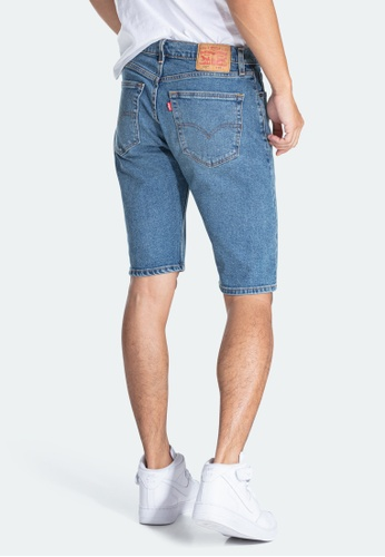 Levi's blue Levi's 505 Regular Fit Shorts 28721-0011 89EBBAAA120EAEGS_1