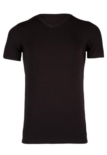 Blueberry Wesprit旗艦店ing 基本款V 領T 恤, 服飾, 服飾