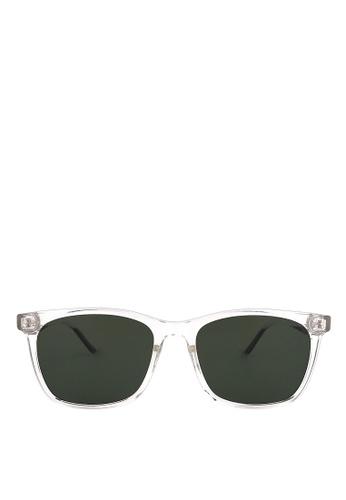 Kaca-kaca multi Kaca Kaca Bevan Clear Sunglasses 2645BGL3B723E6GS_1