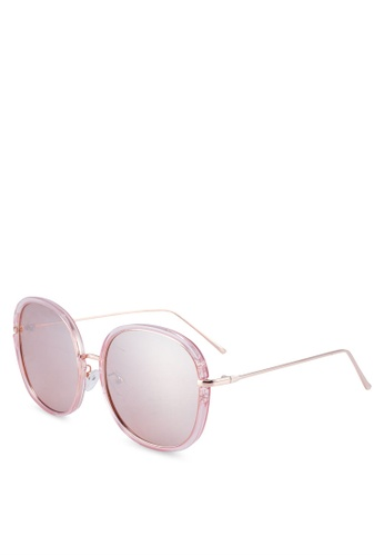 f024172d32 Buy ALDO Tenaria Round Sunglasses Online on ZALORA Singapore