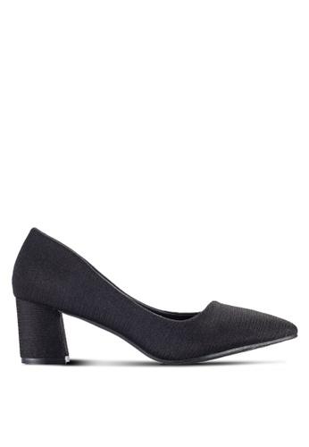 Spiffy black Pointed Heels SP352SH17FECMY_1