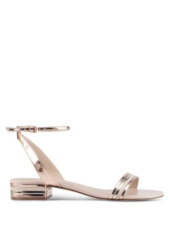 ALDO silver Izzie Heeled Sandals 58FAFSH35E4875GS_1
