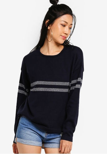 Something Borrowed multi Slouchy Knit Sweater 39270AA31C2216GS_1