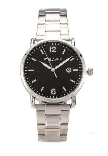 Stuhrling Original silver Oslo 3902 Watch A5A08AC94D8A00GS_1