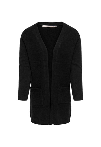 ONLY black Lesly Long Sleeves Open Cardigan 1919AKA5715F42GS_1